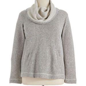 Eileen Fisher Organic Cotton Boxy Sweatshirt Small